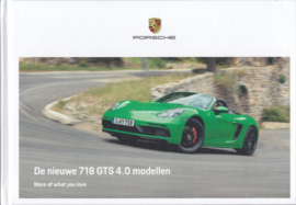 718 GTS 4.0 brochure, 60 pages, 01/2020, hard covers, Dutch language