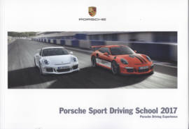 Sport Driving School 2017 brochure, 100 pages, 01/2017, German language
