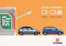 C2 & C3 Tic Tac, Cart'Com freecard, A6-size, French language