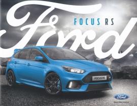 Focus RS brochure, 20 pages, 12/2015, German language