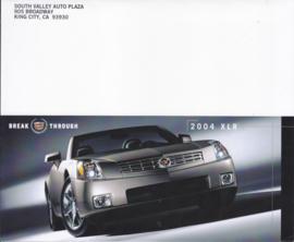 XLR folder, 4 pages, 2004, English language, USA