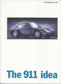 911 Carrera brochure, 88 pages, 08/1995, hard covers, English