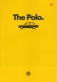 Polo Classic 2-door brochure, A4-size, 20 pages, 08/1985, English language