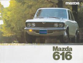 616 Sedan & Coupé brochure, 8 pages, 01/1976, Dutch language