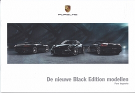 911 & Boxster Black Editions brochure, 28 pages, 05/2015, Dutch