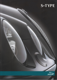 S-Type Saloon brochure, 24 pages, 2003, Dutch language