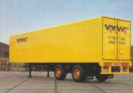 * Trailer wide-spread type AG-11-20, DIN A6-size postcard, Dutch issue