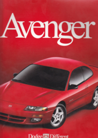 Avenger brochure, 20 large pages, 07/1999, English language, USA