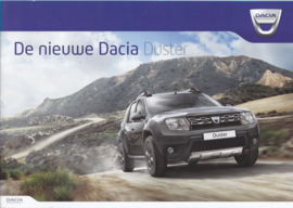 Duster brochure,  24 pages, A4-size, 11/2013, Dutch language