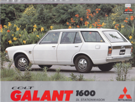 Colt Galant 1600 DL Wagon brochure, 2 pages, 12/1974, Dutch language