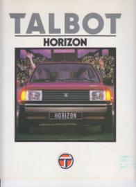 Horizon, 4 large square pages, Dutch language, 9/79