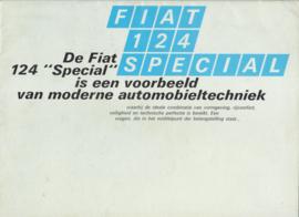 124 Special Sedan brochure, 16 pages, about 1967, Dutch language