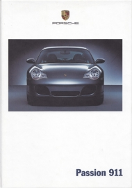911 Carrera brochure, 146 pages, 07/2002, hard covers, German