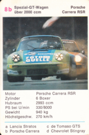 911 RSR - card 8b - size 10 x 6,5 cm, German language