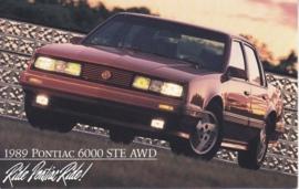 6000 STE AWD, 1989, standard-size, USA