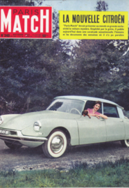 Citroen DS 19 introduction 1955, DIN A6-size, unused, Dutch issue, 2008