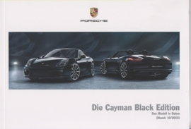 Cayman Black Edition pricelist, 66 pages, 10/2015, German