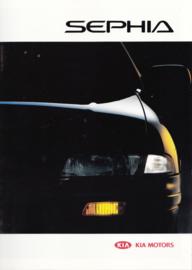 Sephia brochure, 20 pages, 2000, Dutch language
