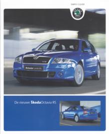 Octavia RS brochure, 12 pages, Dutch language, 01/2006