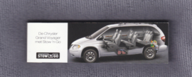 Chrysler Grand Voyager with stow 'n go, 42 small size pages, Dutch language
