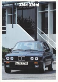 324d/324td brochure, 22 pages, A4-size, 2/1987, German language