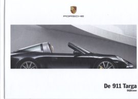 911 Targa 4/4S brochure, 108 pages, 03/2015, hard covers, dust jacket, Dutch