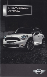 Countryman intro brochure, 8 small pages, German, 2010