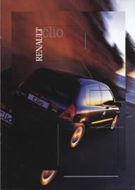 Clio brochure, 40 pages, 06/2000, Swedish language