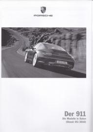 911 Carrera pricelist, 114 pages, 05/2010, German