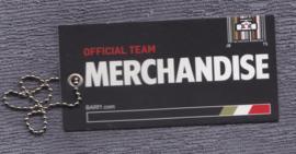 BAR Honda F1 merchandise item, plastic card with metal chain