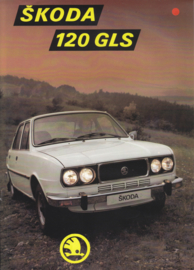 120 GLS Sedan leaflet, 2 pages, no text, about 1978