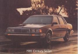 Century Sedan, US postcard, standard size, 1985