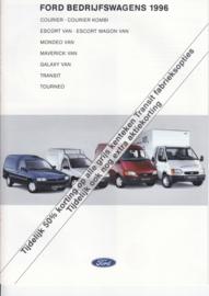 Commercials brochure, 12 pages, 04/1996, Dutch language