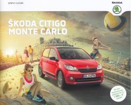 Citigo Monte Carlo brochure, 16 pages, German language, 05/2014
