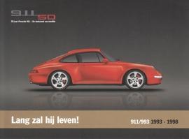 911 (993) 1993-1998, A5-size postcard, 2013, Dutch