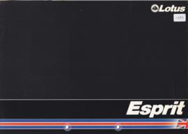 Esprit Series 3 & Turbo brochure, 6 pages, DIN-A4 size, c1982, English language