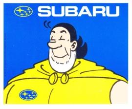 Subaru, sticker, 9 x 11 cm