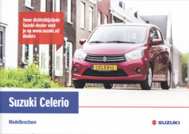 Celerio brochure, 24 pages, #10616, 2016, Dutch language