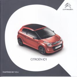 C1 brochure, 52 pages, 04/2018, Dutch language