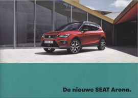 Arona new model brochure, 32 pages, 09/2017, Dutch language