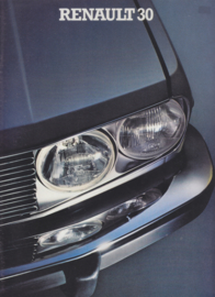 30 V6 brochure, 36 large pages, 1980, Dutch language