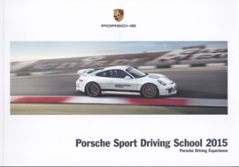 Sport Driving School 2015 brochure, 92 pages, 11/2014, English language