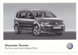 Touran postcard, DIN A6-size, French language, # VWP1072