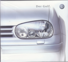 Volkswagen Golf,  CD-ROM, factory issue, Germany, about 2000