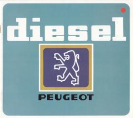 Diesel program brochure, 8 pages, square size, 1981, Dutch language