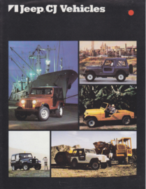 CJ Vehicles, leaflet, 2 pages, 1980, USA
