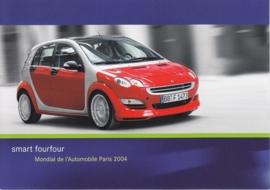 Smart Fourfour, A6-size postcard, Paris 2004
