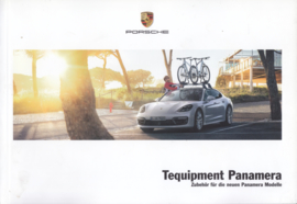 Panamera Tequipment brochure, 92 pages, 11/2016, German