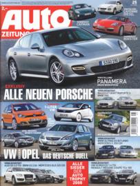 Auto Zeitung, 136 pages, 26.11.2008, German language