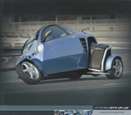 Carver One tilting 3-wheeler leaflet, 2 pages, 2006, French language
